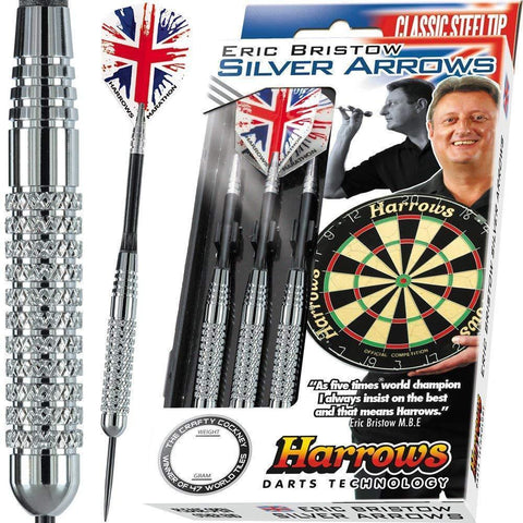 Harrows MULTI-ITEM G211526    ~ ERIC'S SILVER ARROW DARTS New zealand nz vaughan