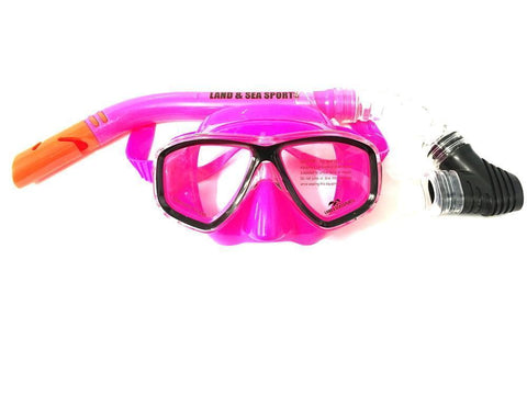 Land & Sea 420524     ~ CLEARWATER PINK  MASK/SNORKEL New zealand nz vaughan