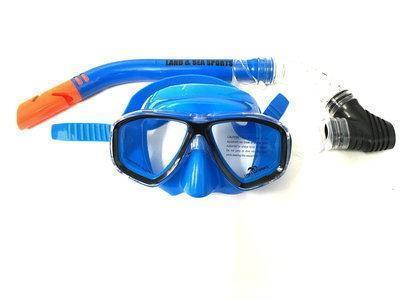 Land & Sea 420525     ~ CLEARWATER BLUE  MASK/SNORKEL New zealand nz vaughan