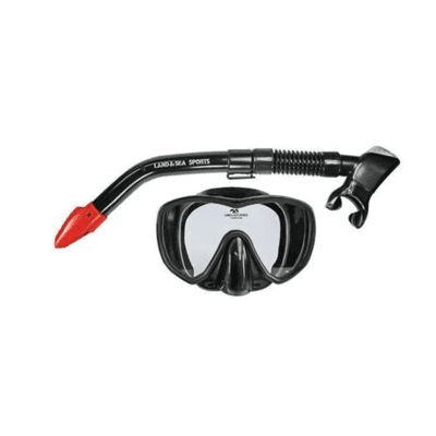 Land & sea 42059      ~ BLACK MARLIN MASK/SNORK SET New zealand nz vaughan