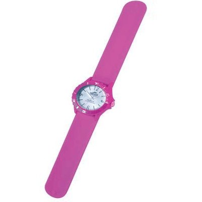 Land & Sea 431781     ~ SLAP-WATCH SIL. 10ATM PINK New zealand nz vaughan