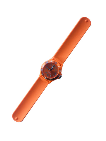 Land & Sea 431782     ~ SLAP-WATCH SIL. 10ATM ORANGE