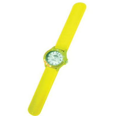 Land & Sea 431783     ~ SLAP-WATCH SIL. 10ATM YELLOW New zealand nz vaughan