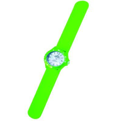 Land & Sea 431784     ~ SLAP-WATCH SIL. 10ATM LIME New zealand nz vaughan