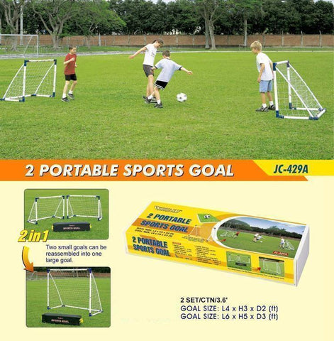 Outdoor Play 856471     ~ PORTABLE SPORTS GOAL JC-429A