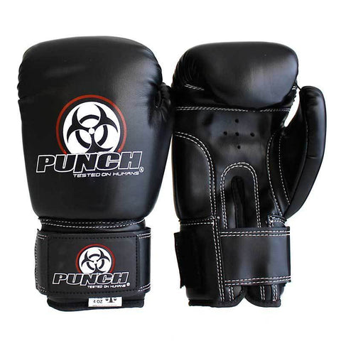 Punch Equipment 9011071    ~ URBAN JNR BOX GLOVE BLK 8OZ New zealand nz vaughan