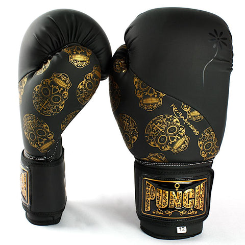 Punch Equipment 901525     ~ PUNCH URBAN 12OZ BLK/GOL SKUL New zealand nz vaughan