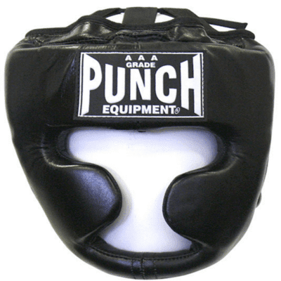 Punch Equipment 90381      ~ FULL FACE HEADGUARD BLACK LGE New zealand nz vaughan
