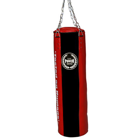 Punch Equipment 9080452    ~ PUNCH SOFT BOXING BAG 5ft RED New zealand nz vaughan