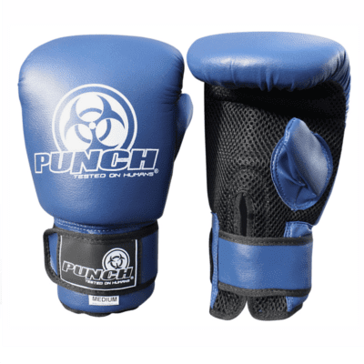 Punch Equipment MULTI-ITEM 900134     ~ URBAN BAG MITTS BLUE New zealand nz vaughan