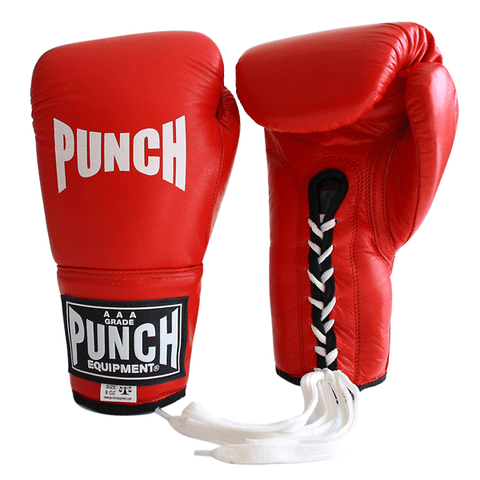 Punch Equipment MULTI-ITEM 90281     ~ LACE UP TROPHY COMP RED