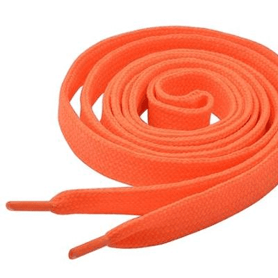Tiger 8479982    ~ TIGER  LACES 150CM NEON ORANGE New zealand nz vaughan