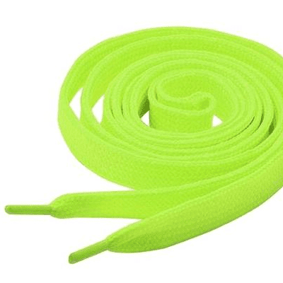 Tiger 8479984    ~ TIGER  LACES 150CM NEON YELLOW New zealand nz vaughan