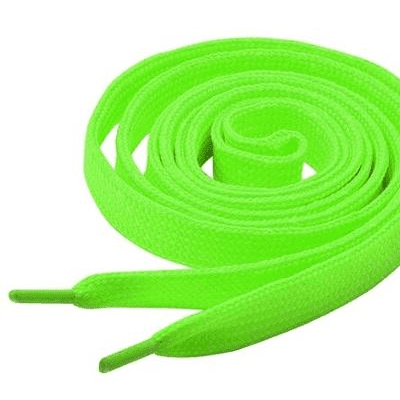 Tiger 8479990    ~ TIGER  LACES 150CM NEON LIME New zealand nz vaughan