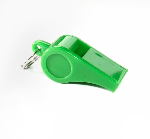 Vaughan A2124      ~ 55MM GREEN   WHISTLE W/LANY 12 New zealand nz vaughan