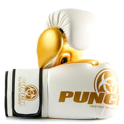 Vaughan Sports 901119     ~ PUNCH URBAN WHT/GOLD BOX 12OZ New zealand nz vaughan