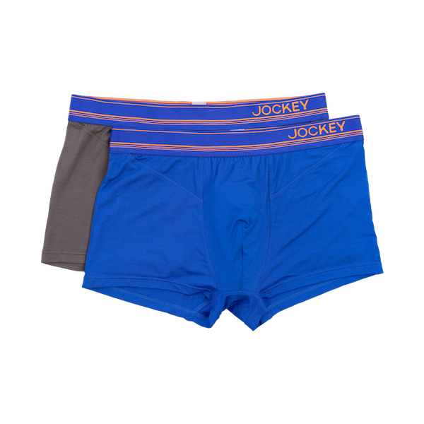 Jockey - 2 pack Bamboo Elastane Short Trunk With 3.5 EW