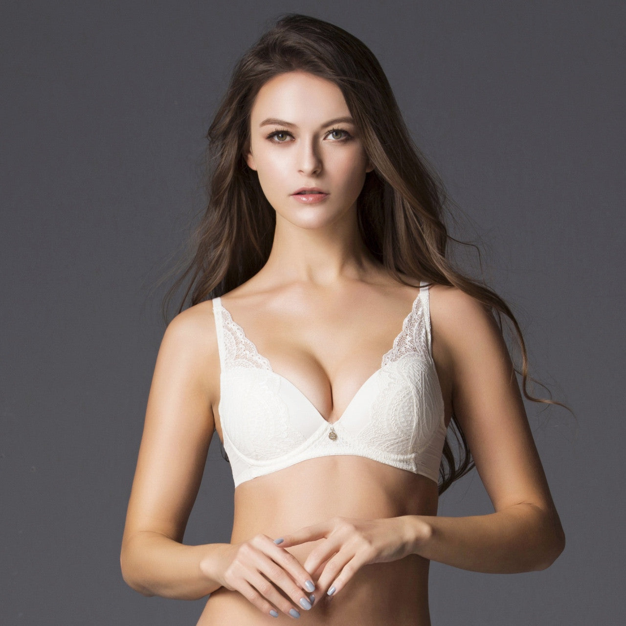 100% quality quality first authentic quality Cream Non Wire Lace Bra – Jockey Malaysia