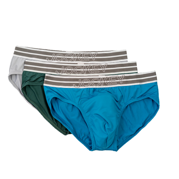 Jockey® Collection 3 Pack Microfiber Elastane Briefs