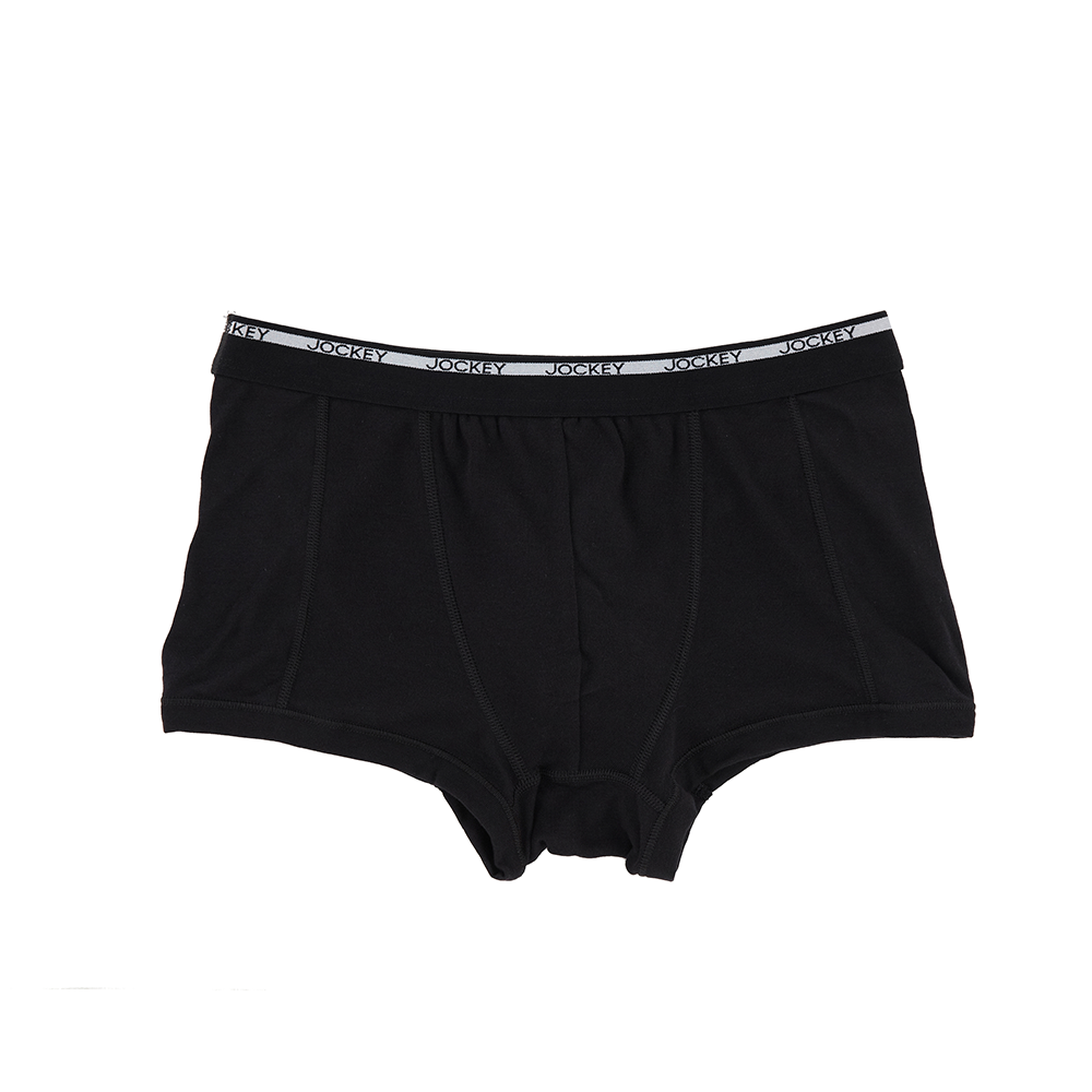 Jockey® Modern Classic 1850 Black Short Trunk