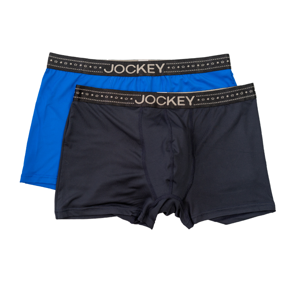 Jockey® Signature 2 Pack Microfiber Long Trunks