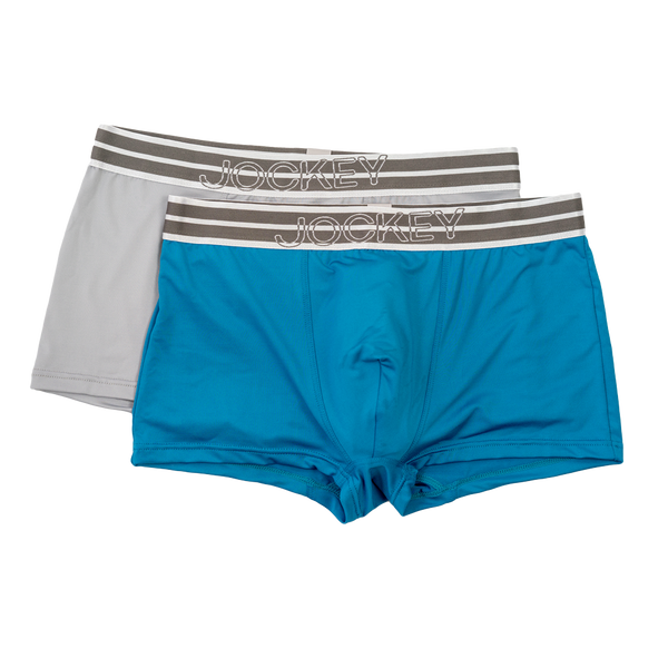 Jockey® Collection 2 Pack Microfiber Short Trunks