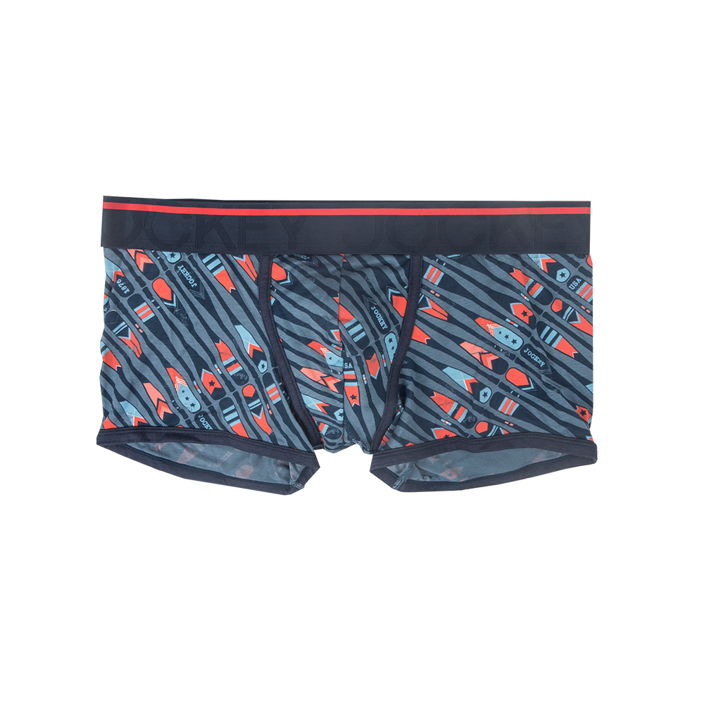 Jockey® USA Originals 1 Pack Regatta Blue Short Trunk
