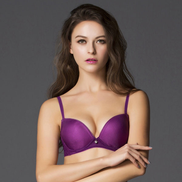 3/4 Cup Bra - Purple