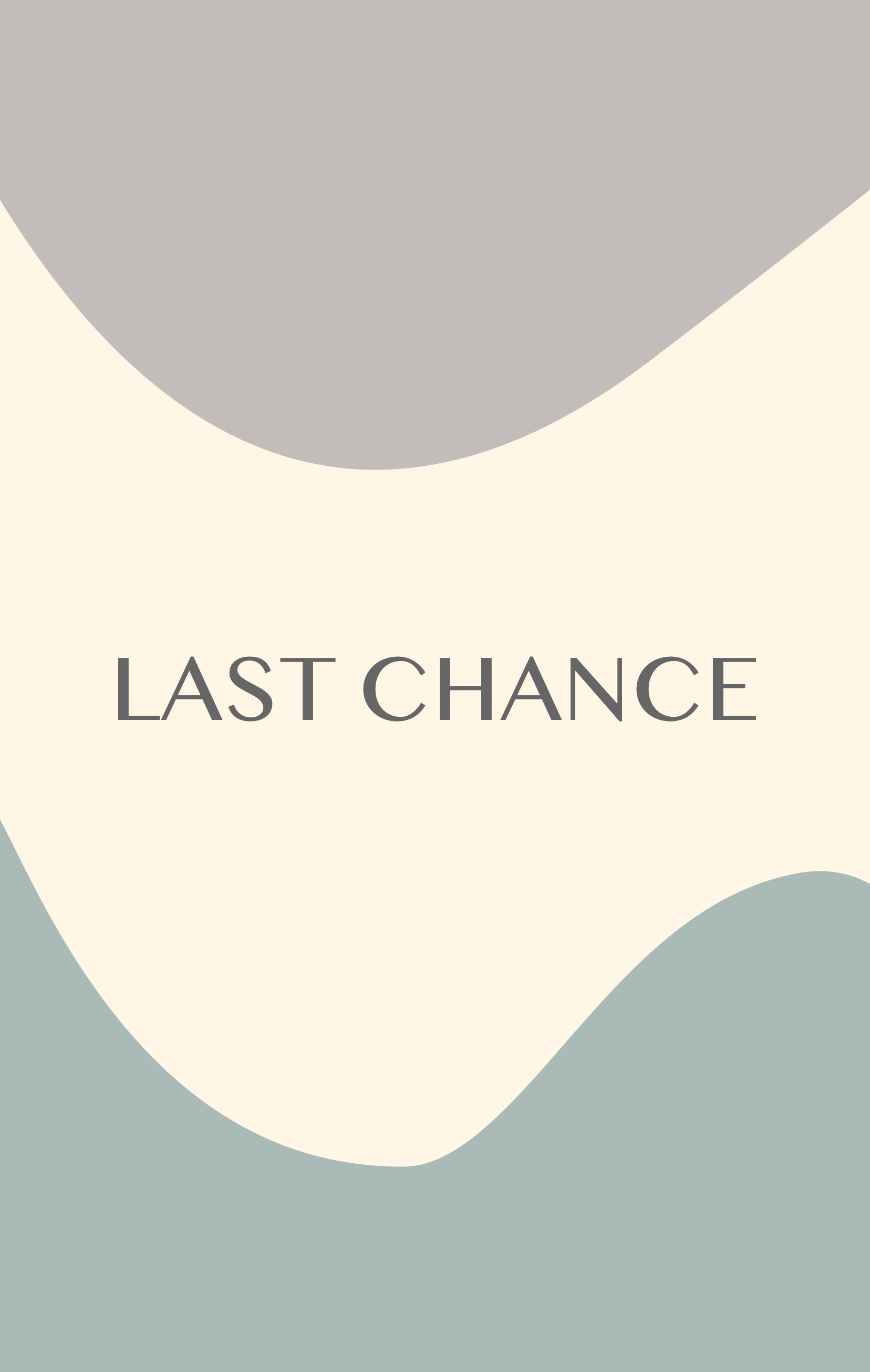 Last Chance Items: Updated!!
