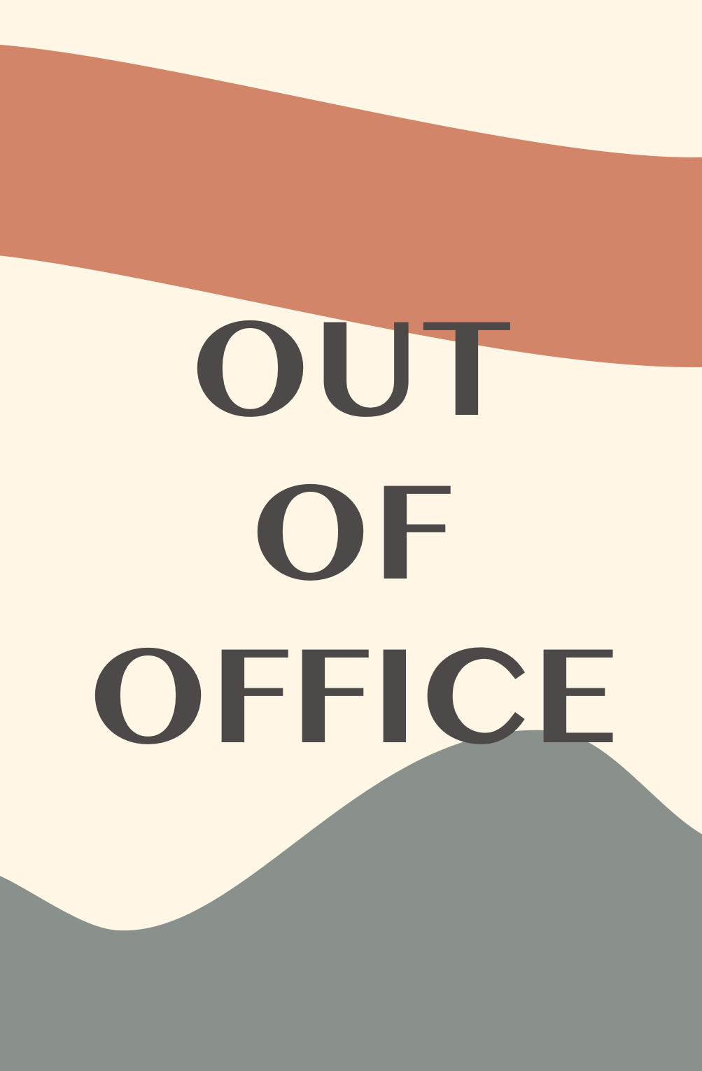 Out of Office: June 12 - 28th