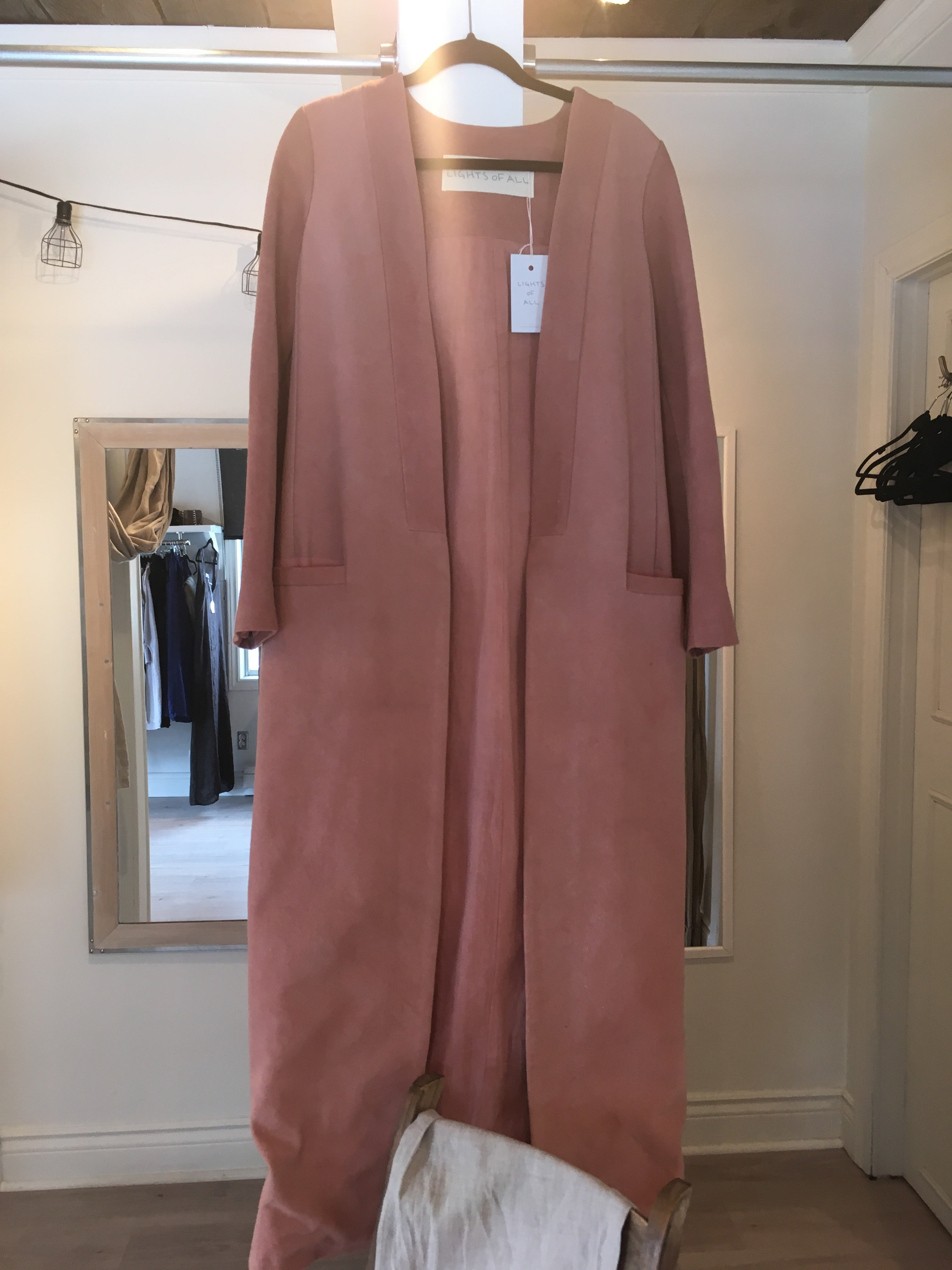Long Cover Coat