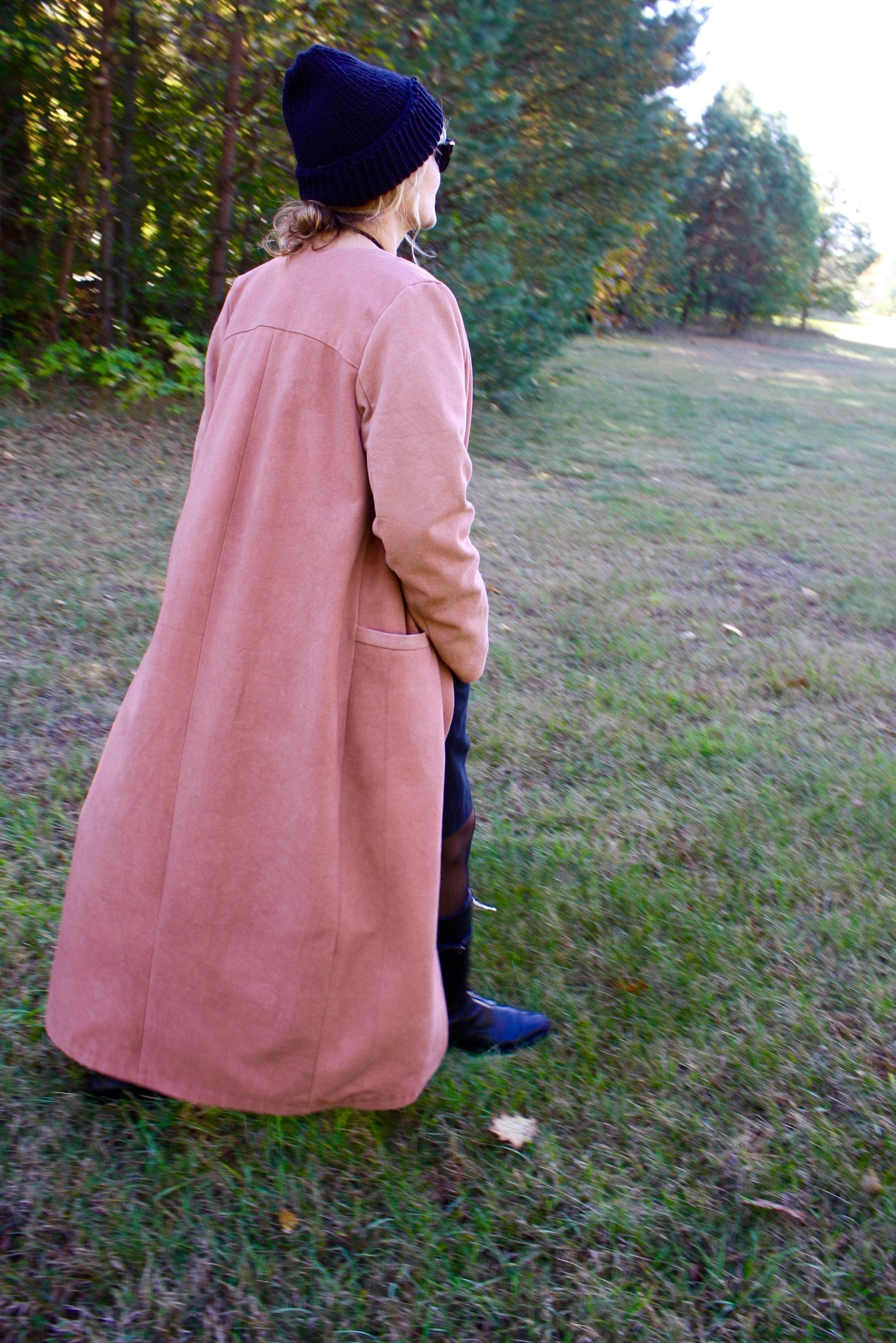 Hand Dyed Coat