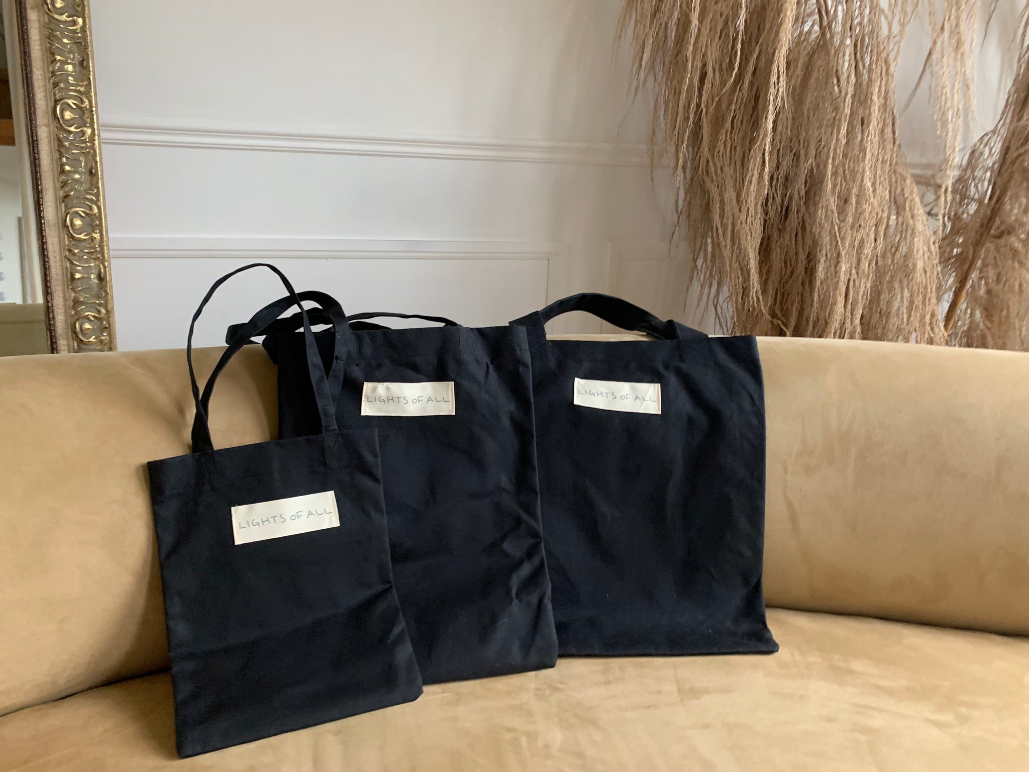 Waxed Cotton Tote | Large