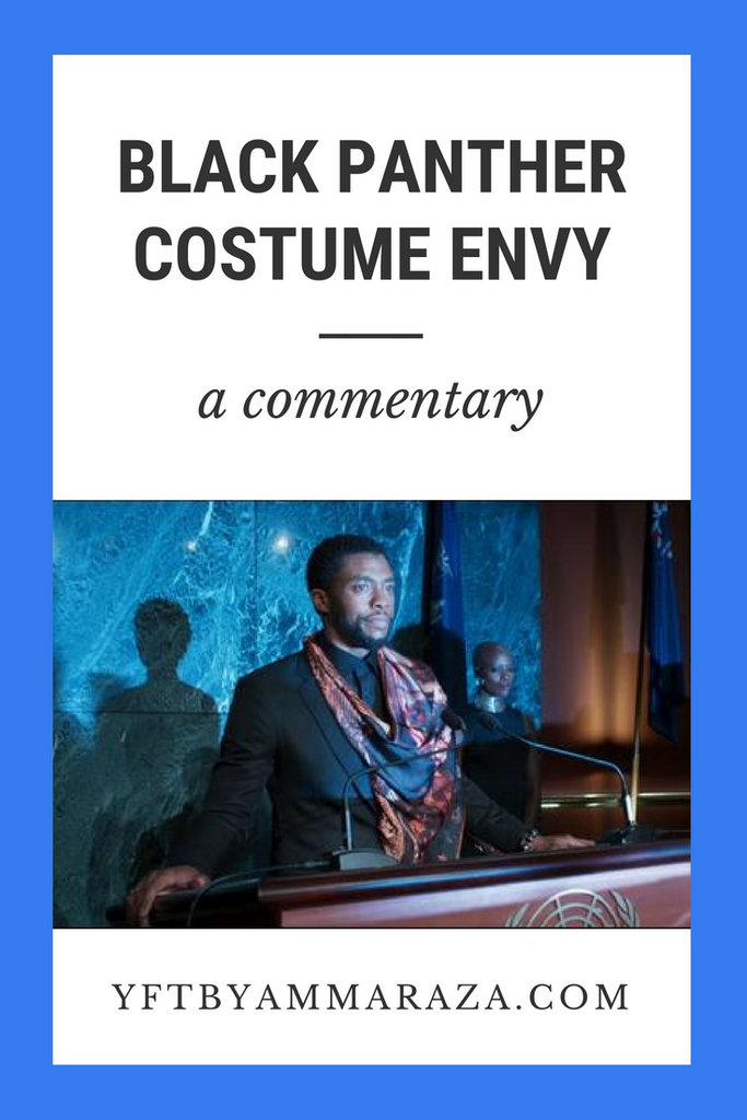 BLACK PANTHER COSTUME ENVY