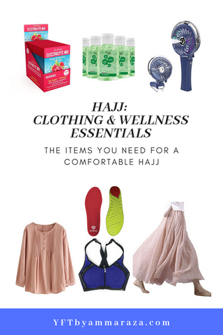 HAJJ - CLOTHING & WELLNESS ESSENTIALS