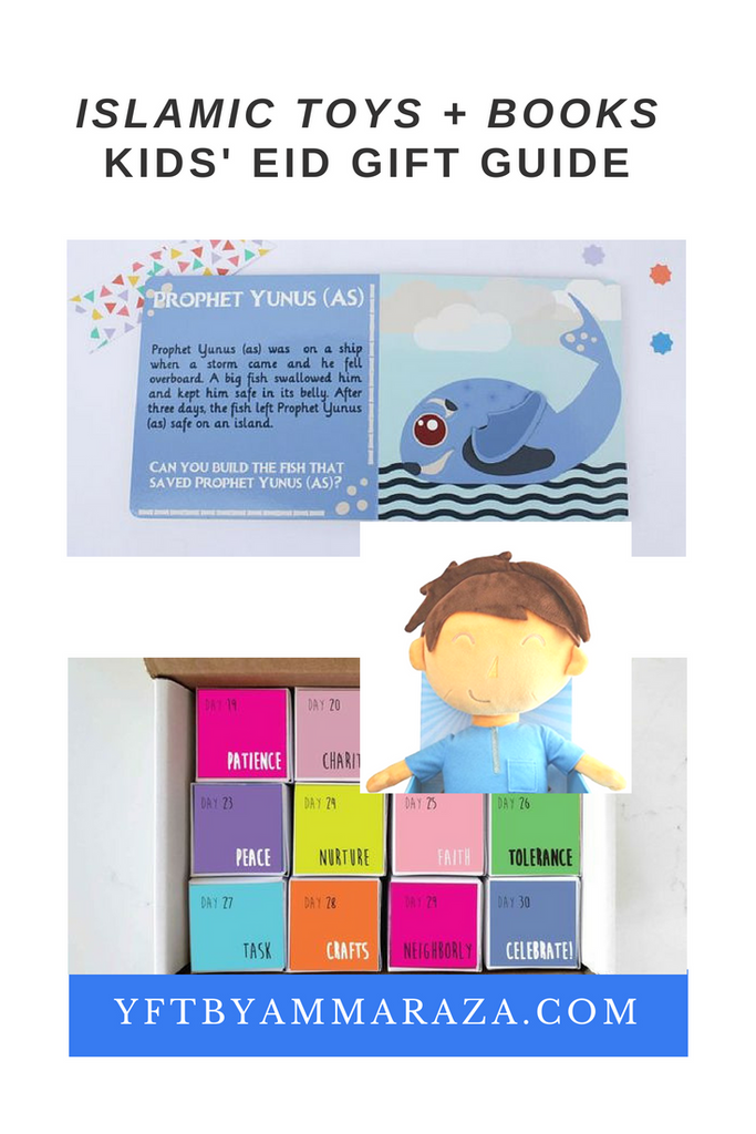 KIDS EID GIFT GUIDE - ISLAMIC TOYS AND BOOKS
