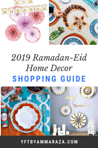 2019 ramadan eid home decor guide