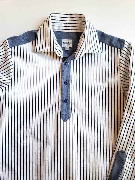 NAVY STRIPES - BIG BOYS