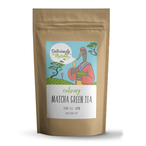 Culinary Matcha Green Tea - perfect for green tea lattes, smoothies, baking and desserts.