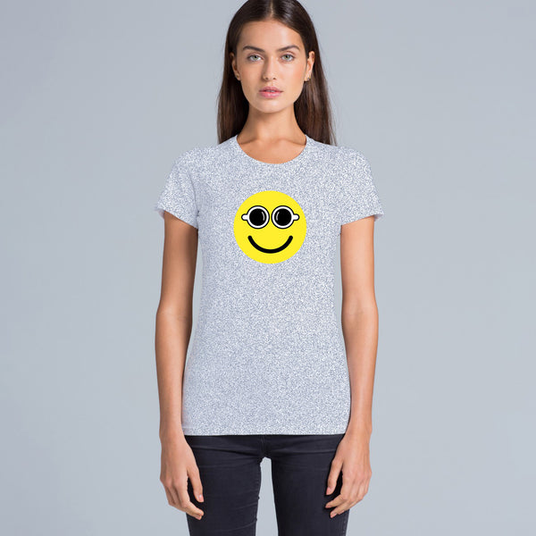 CafeSmart 'Smiley' Women's Tshirt