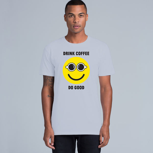 'Drink Coffee Do Good' Men's Tshirt