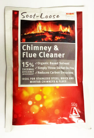 SOOT-LOOSE CHIMNEY AND FLUE CLEANER