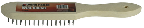 WIRE BRUSH - STEEL - 3 ROW