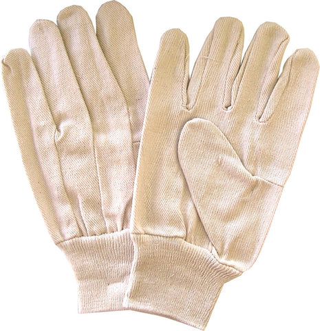 COTTON GLOVES - LADIES HEAVY COTTON - MEDIUM