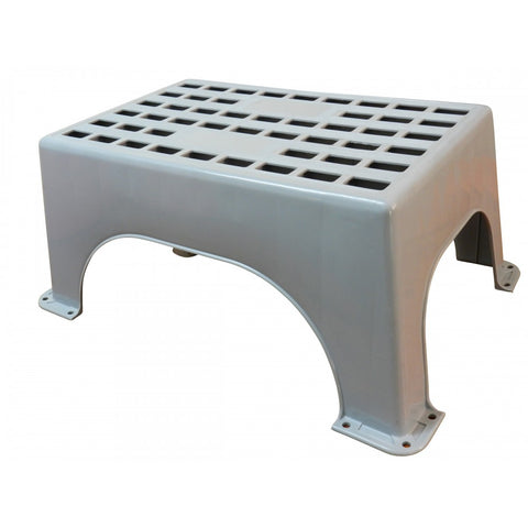 STEP - LARGE FIXED PLASTIC STEP - 150KG RATED