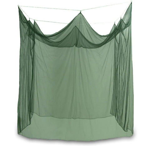 BOX STYLE - GREEN - SINGLE - MOSQUITO NET
