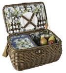 PICNIC BASKET  - 4 PERSON - PALM TREE - AVANTI