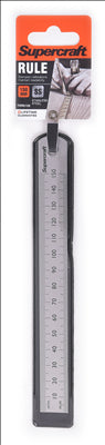 RULER - STAINLESS STEEL - 150mm - SUPERCRAFT