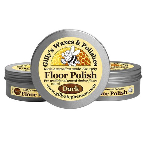 FLOOR POLISH  - DARK - 200ml