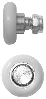 WHEELS -SLIDING DOOR -  ROUND - 20`mm - 2 PACK - QUICK FIX